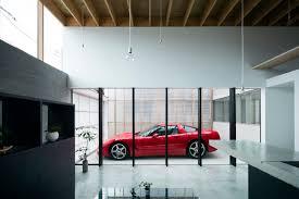 garage terrace house モダン ガレージ 他の地域 yoshi