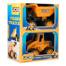 Jcb Tough Trucks Twin Pack