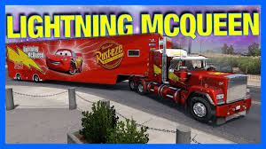 MACK TRUCK DELIVERS LIGHTNING MCQUEEN!! (American Truck Simulator ... Disney Cars Dkv46 Mack Playset Amazoncouk Toys Games Pixar Truck Hauler Lightning Mcqueen Carry Case 2 Mcqueen With Images Dinoco The Transportation With Mega Bloks 7769 155 Custom Monster Paulmartstore 3 2pcsset Uncle Tv Dvd In Newcastle Tyne And Wear Gumtree Cars Model Mack Car Lightning Mcqueen Haulers More Mernational Championship Trucks Mc