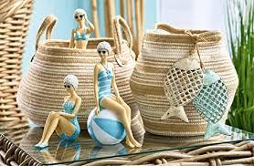 klocke seaside maritime dekoration badenixe figur polyresin hochwertige tischdeko bad deko dekofigur dekoobjekt badezimmer stehend höhe