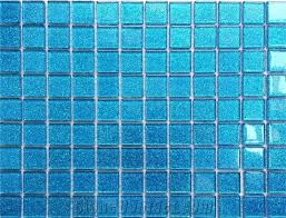 1 inch square light blue glass cheap mosaic tiles cheap mosaic