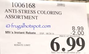 Anti Stress Coloring Book Costco Price