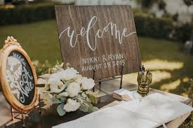 Modern Boho Wedding At Lombardi House Nikki Ryan Guestbook TableWedding Welcome