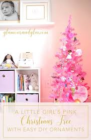 Girls Bedroom Blush Decor Pink Christmas Tree 3 Pinterest