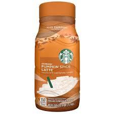 Starbucks Iced Espresso Classics Pumpkin Spice Latte 40 Fluid Ounce Plastic Bottle