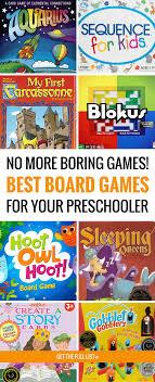 This Is The Best List Of Preschool Board Games