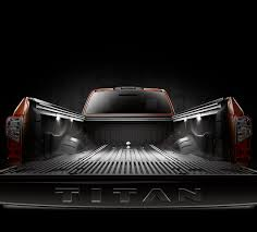 100 Truck Bed Lighting System Titan XD Cargo Box Features UtiliTrack Cargo In