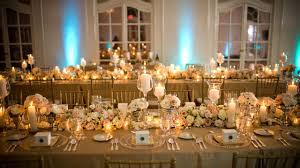 décoration de mariage or