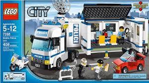 100 Lego Police Truck LEGO 7288 Mobile Unit City Instruction Booklet YouTube