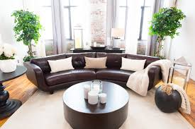 Buchannan Faux Leather Corner Sectional Sofa Black by Curved Sectional Sofas You U0027ll Love Wayfair