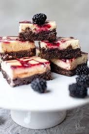 brombeer cheesecake brownies foodblog princess ch