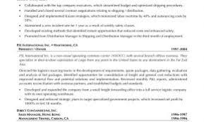 Resume Samples For Distribution Managers Unique Warehouse Management Sample 0 Manager Examples Job