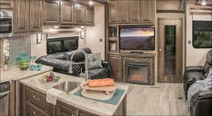 Luxury Fifth Wheel Rv Front Living Room by Kitchen Campers With Front Living Room Fifth Wheel With King