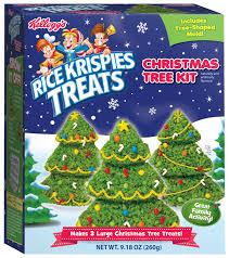 KelloggsR Rice Krispies TreatsR Christmas Trees Kit