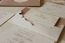 Lace Pocket Wedding Invitations Romantic Blush And White Invitation Zenadia Design Ideas