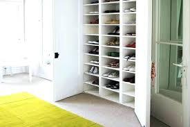 Wall Closets Ikea Shoes Closet Shoe Racks For Closets Wall Mount