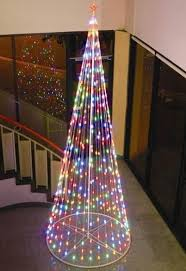 Crab Pot Christmas Trees Dealers by Homebrite 12 Ft Multi Color Light Strand Christmas Tree Colour