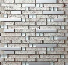 metal tile backsplash kitchen design colorful glass