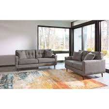 Ergonomically Correct Living Room Furniture by Ashley Furniture Zardoni Stationary Living Room Group Furniture