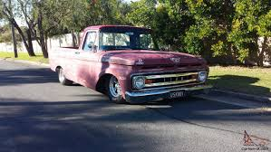 100 Ford Unibody Truck For Sale 1961 F100 Ratrod Patina In QLD