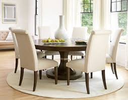California Round Dining Set W/ Upholstered Chairs (Hollywood Hills ... Trisha Yearwood Home Music City Hello Im Gone Ding Room Table Grey Griffin Cutback Upholstered Chair Along With Dark Wood Amazoncom Formal Luxurious 5pc Set Antique Silver Finish Tribeca Round And 2 Upholstered Side Chairs American Haddie Light Tone 4 Value Hooker Fniture Corsica Rectangle Pedestal Matisse With W Ladder Back By Paula Deen Vienna Merlot Kayla New