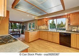 cuisine en dur bois floor bois dur clair intérieur cuisine salle image