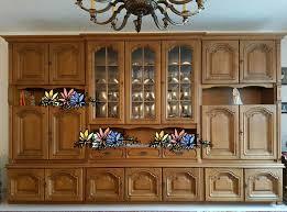wohnzimmerschrank eiche massiv lübbert rustikal schrankwand glas