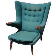 Authentic Hans Wegner Papa Bear Chair by Upholstery Mod Restoration