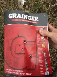 There Was A 3 Thick Grainger Catalog Sitting On The Shelf That Never Used