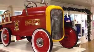 Ford Pedal Power Toy Fire Engine Number 36 At Harrods London - YouTube Goki Vintage Fire Engine Ride On Pedal Truck Rrp 224 In Classic Metal Car Toy By Great Gizmos Sale Old Vintage 1955 Original Murray Jet Flow Fire Dept Truck Pedal Car Restoration C N Reproductions Inc Not Just For Kids Cars Could Fetch Thousands At Barrett Model T 1914 Firetruck Icm 24004 A Late 20th Century Buddy L Childs Hook And Ladder No9 Collectors Weekly Instep Red Walmartcom Stuff Buffyscarscom Page 2