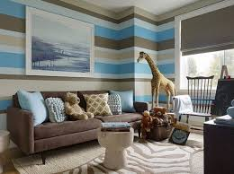 Brown And Aqua Living Room Ideas by Chocolate Brown And Blue Living Room Ideas With Large Wall
