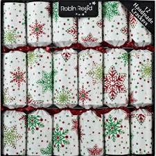 Christmas Tree Lane Turlock Ca Hours by Amazon Com Robin Reed Bows U0026 Berries Christmas Crackers Set Of
