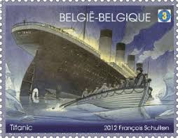 titanic 3d stamp issued by belgian post the new titanic in 3d