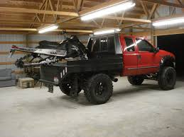 100 Used Truck Flatbeds Lets See Your Snowmobile Flat Bed Setups Page 2 Back Country