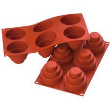 schneider silikon backform mini kuchen rot