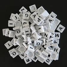 Scrabble Tile Value Change by 2 Full Sets Of Scrabble Tiles 200 Tiles Black Letters On White