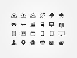 Icon Set For Travel Agency