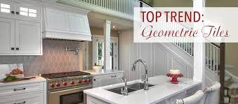 top trend geometric tiles kitchen bath trends