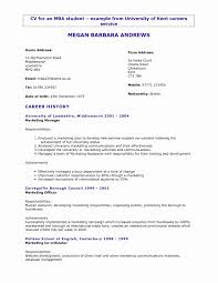 Resume Objective Examples For College Students Lovely Objectives New General