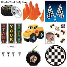 100 Monster Truck Party Decorations Cre8tive Designs Inc