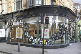 100 Westbourn Grove Winter Contemporary E Installation Maddox Gallery
