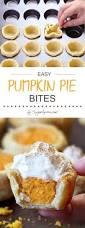 Skinnytaste Pumpkin Pie Cheesecake by Easy Pumpkin Pie Bites Recipe Homemade Pumpkin Pie Pumpkin