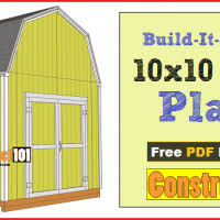 8x10 Shed Plans Materials List by Free Shed Plans With Drawings Material List Free Pdf Download