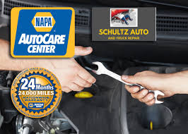 Count On The NAPA AutoCare Peace Of Mind Warranty At Schultz Auto ...