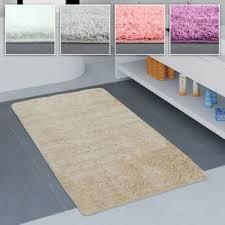 größen u farben paco home badezimmer teppich einfarbig