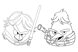 Angry Birds Coloring Pages Photography Star Wars Book