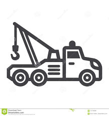 Tow Truck Line Icon, Transport And Vehicle Stock Vector ... Auto Car Transportation Services Tow Truck With Crane Mono Line Grand Island Ny Towing Good Guys Automotive City Road Assistance Service Evacuator Delivers Man And Stock Vector Illustration Of Mirror Flat Bed Loading Broken Stock Photo Royalty Free Bobs Garage Flatbed Isometric Decorative Icons Set Workshop Illustrations 1432 Icon Transport And Vehicle Sign Vector Clipart 92054 By Patrimonio