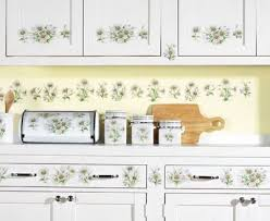 Daisy Kitchen 45 Piece Wall Decal Stickers