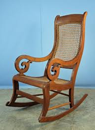Gooseneck Rocker W/ Cane Bottom & Back - Mar 24, 2018 | Kennedys ... Gooseneck Chair Platform Rocking Antique Monteverest Chesterfield Ay96 Jnalagora Lincoln Rocker Chair On Bonanzacom Owls Buffalo Check Chairish Mahogany Arm Pristine Collectors Weekly I Have A Rocking That Has Devils Face At The Top Has Hound Childs Upholstered Whosale 19th Century Chairs 95 For Sale 1stdibs What Is Value Of Gooseneck Rocker Mostly Upholstery Beauty Within Clinic Swan Ideas