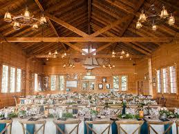 Rustic Indoor Wedding Reception In Colorado